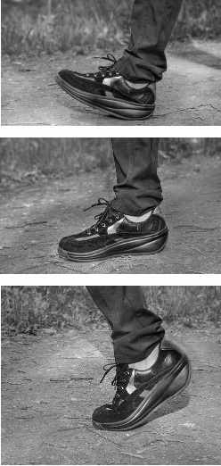 стопа в обуви