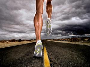 ноги бегуньи