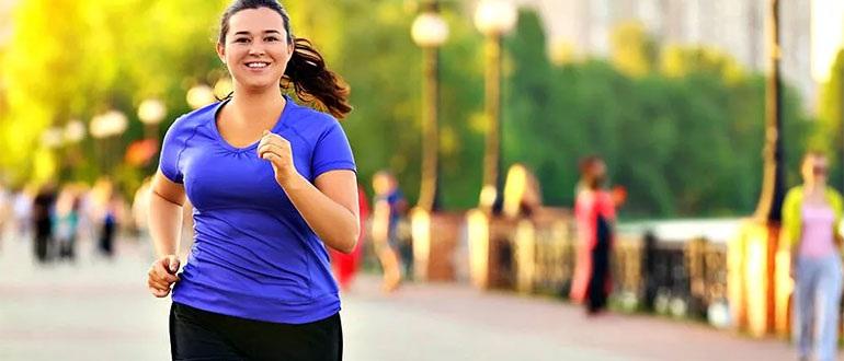 Бег влияет на похудение