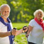 Правила выполнения скандинавской ходьбы с палками для людей в возрасте